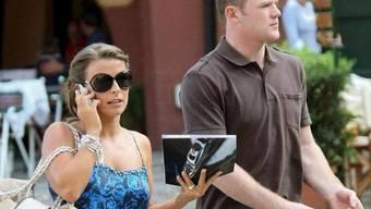 Wayne Rooney und Ehefrau Coleen machen Ferien