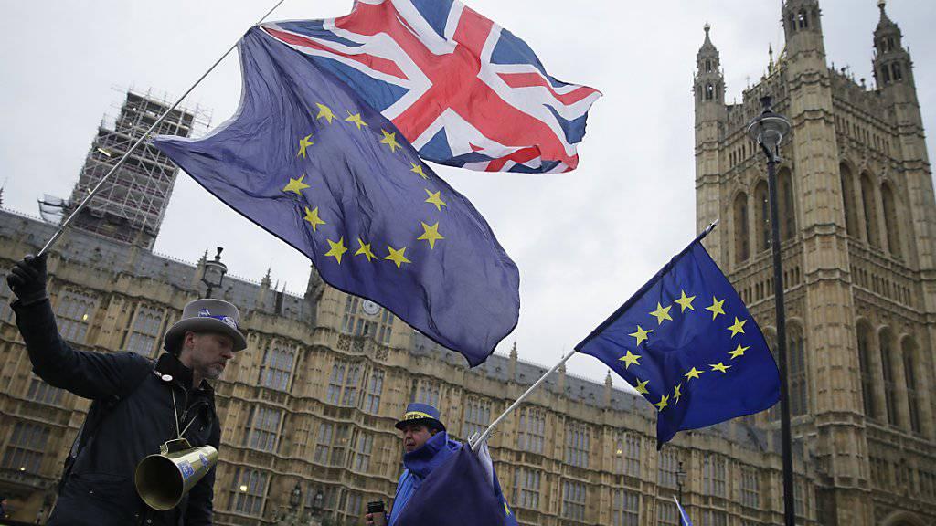 London kann sich freuen: Die britische Wirtschaft profitiert vom weltweiten Konjunkturaufschwung. (Archivbild)
