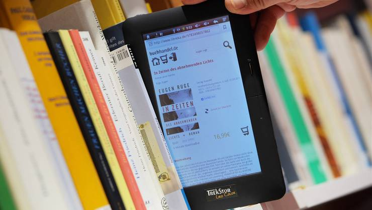 Die Medien sind in die vier Sparten E-Books, Audio (Hörspiele und Hörbücher), Video und E-Paper (Magazine und Zeitungen) unterteilt. (Symbolbild)