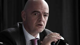 FIFA-Präsident Gianni Infantino hat Grosses vor