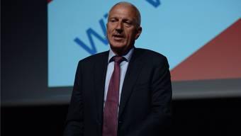 Raiffeisen-Chef Pierin Vincenz: «Während wir Griechenland retten wollen,sammeln die USA alle Daten, die sie finden. Das geht völlig an uns vorbei.»
