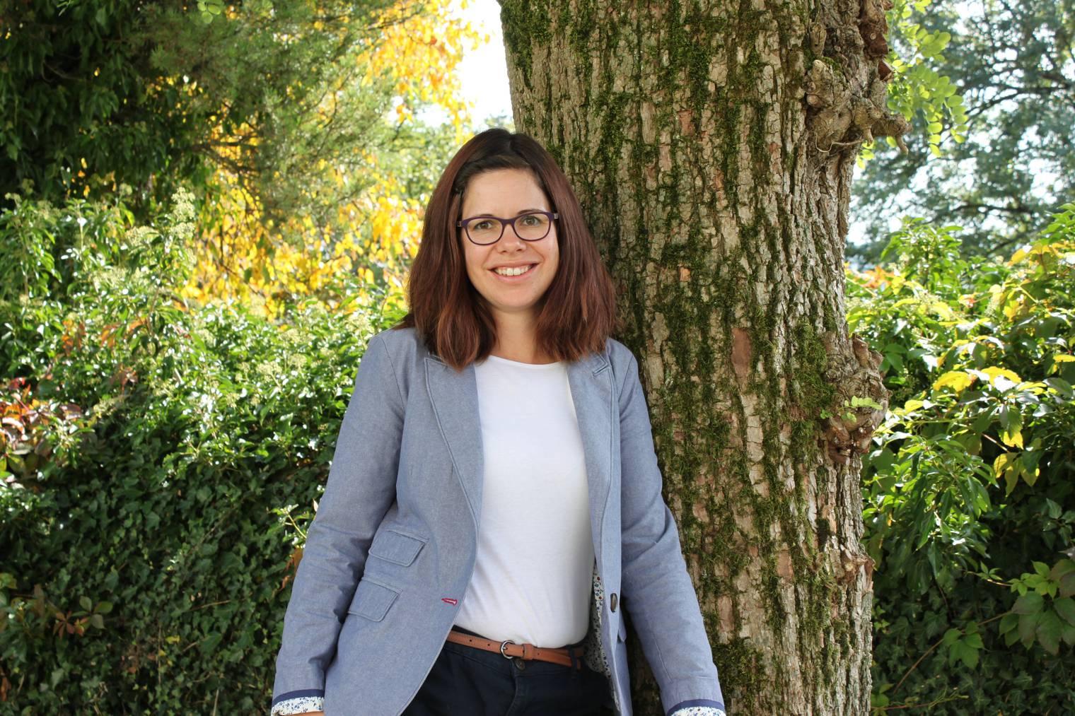Schulpräsidentin Nathalie Wasserfallen (Bild: pd)