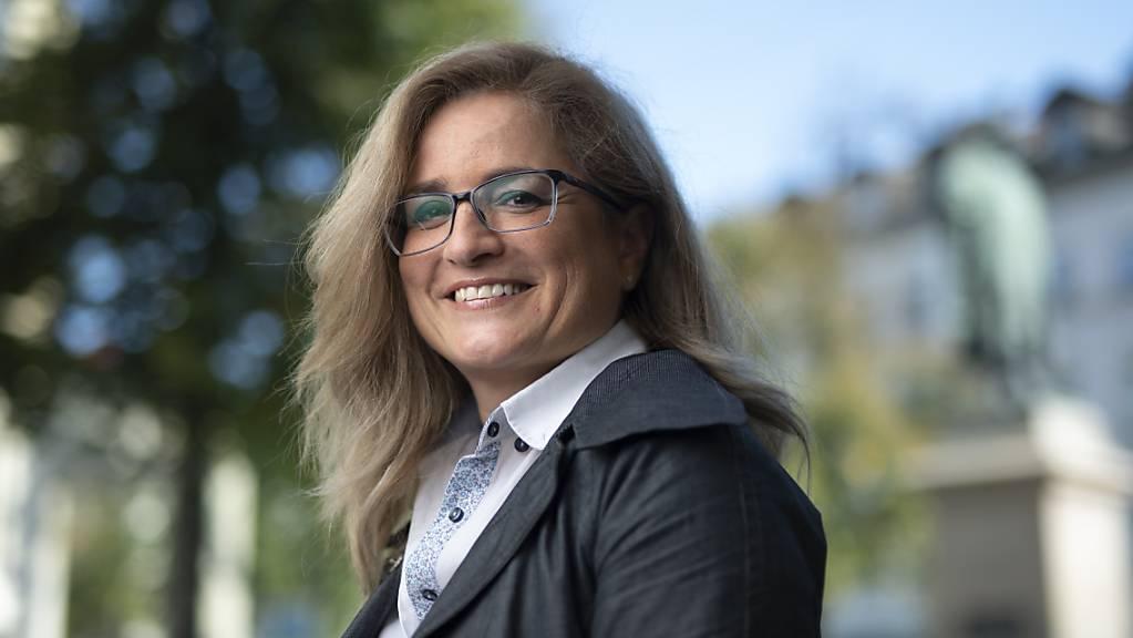 Die SP-Politikerin Maria Pappa tritt Anfang Januar ihr Amt als erste Stadtpräsidentin St. Gallens an (Archivbild).