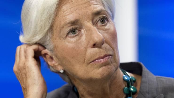 IWF-Chefin Lagarde ist sich im Tapie-Prozesse keiner Schuld bewusst. (Archiv)