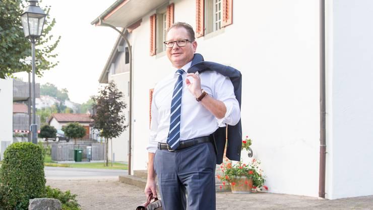 Rolf Jäggi stellt sich zur Verfügung.