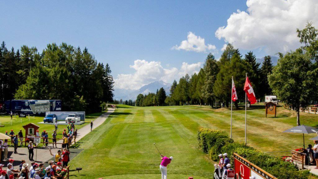 In Crans-Montana ist die Golfbegeisterung wieder gross
