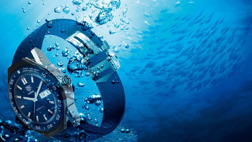 Vernetzt: Smartwatch mit Mechanik von Tag Heuer