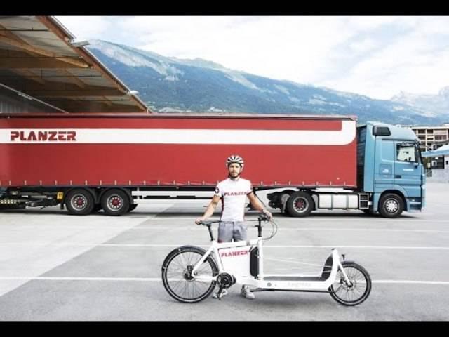 Planzer hat das Pilotprojekt Cargobike gestartet – ein voller Erfolg