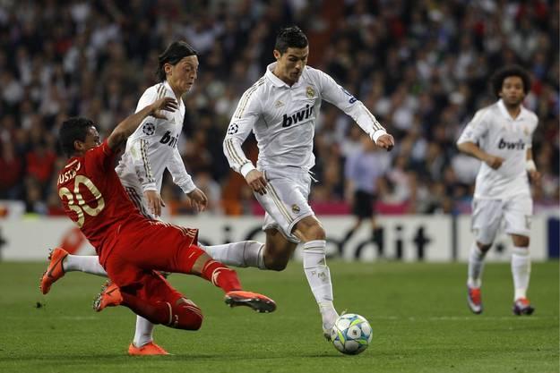 Zweifacher Torschütze Cristiano Ronaldo