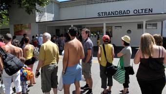 Oltens Strandbad hat viele Besuchende, aber auch einen grossen Investitionsbedarf auszuweisen. BKO