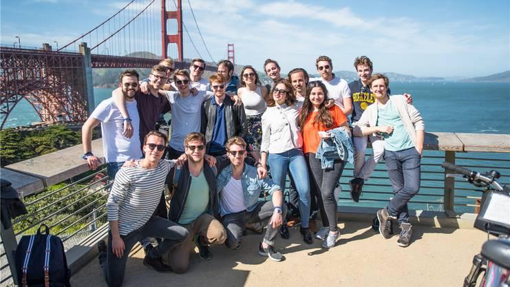 Die Schweizer Studenten sind von der Offenheit im Silicon Valley begeistert.