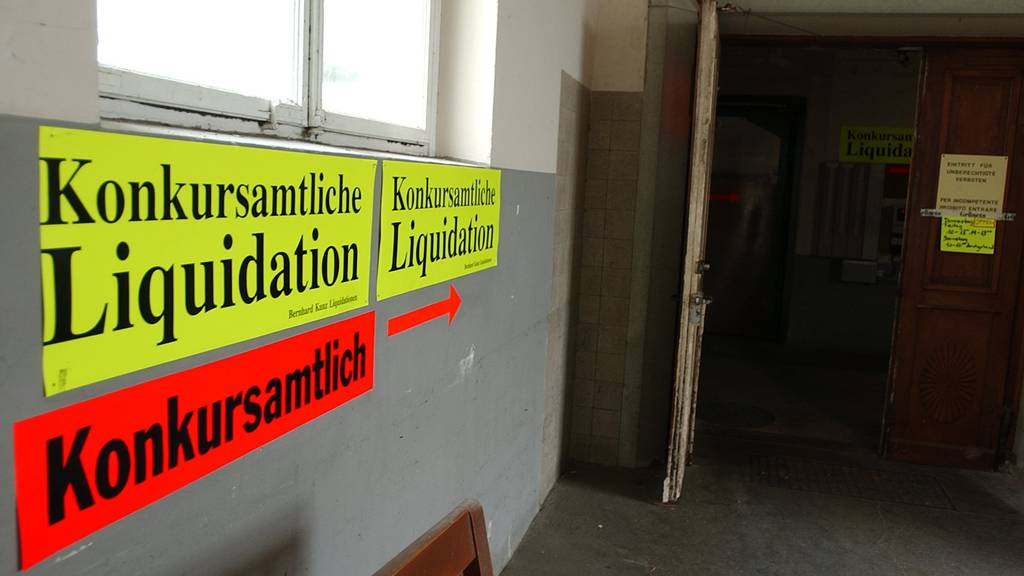 Die Konkurse in St.Gallen haben zugenommen (Symbolbild)