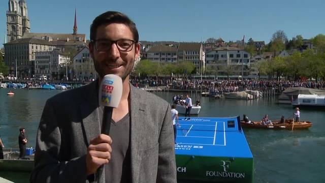 Zürich im Federer-Fieber!