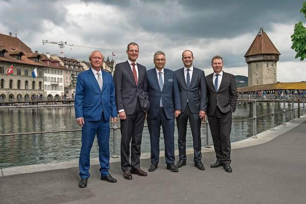 Der Luzerner Regierungsrat.