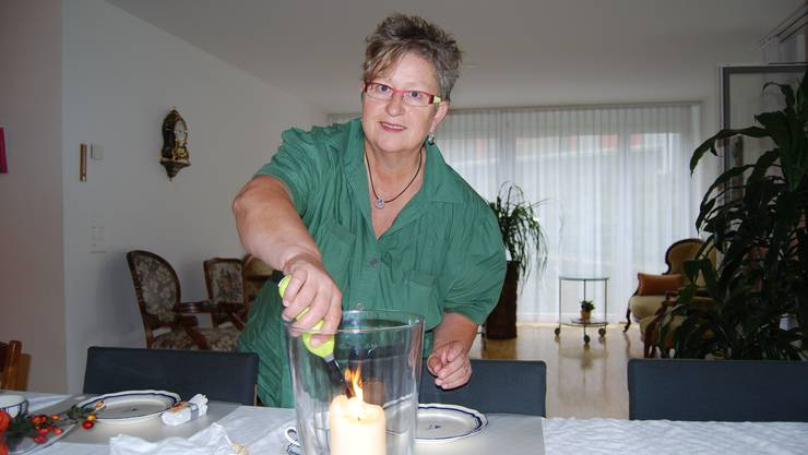 Rita Rupp ist seit Juli die neue Geschäftsführerin des Auenparks in Rohr. (Bild: Deborah Balmer)