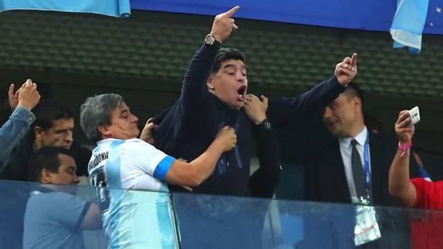 Maradonas tragische Show - Schweiz-Costa Rica - Traum-Zahnarzt