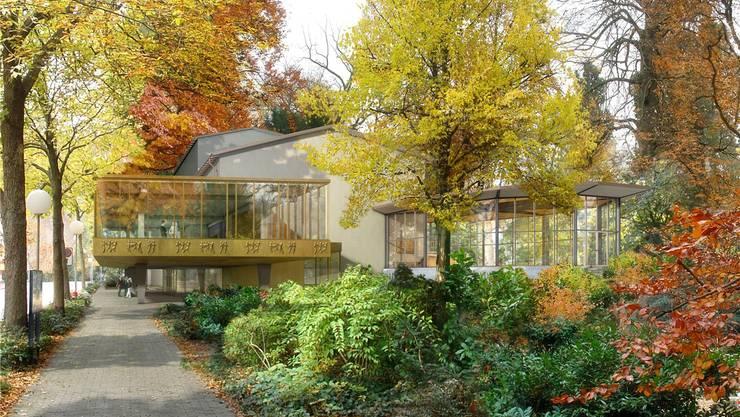 So präsentiert sich das überarbeitete Projekt «Equilibre» – mit getrennten Foyers. boesch architekten