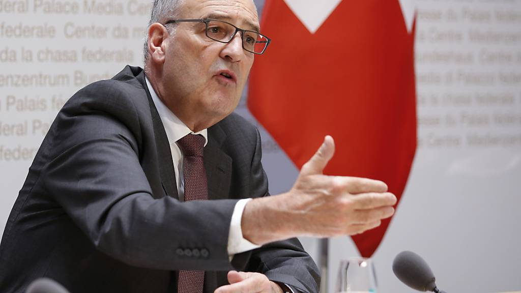 Parmelin: Bundesrat will Wirtschaft ankurbeln