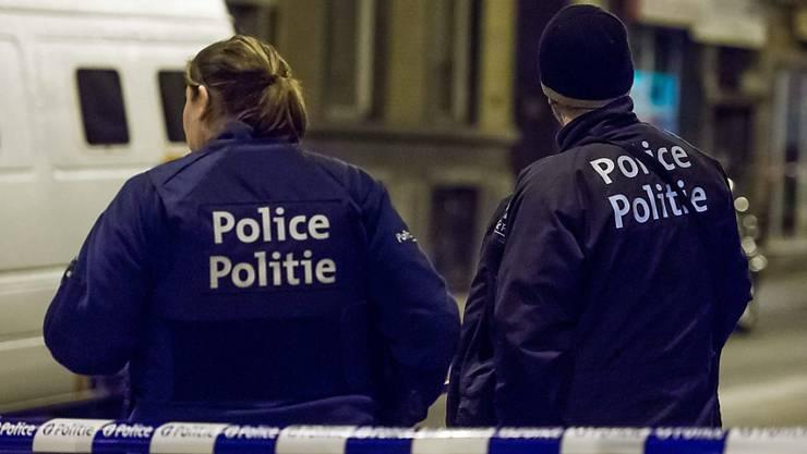 Belgische Sicherheitsleute im Einsatz (Archiv)