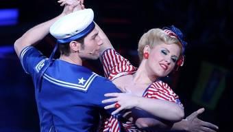 Sängerin Maite Kelly mit Tanzpartner Christian Polanc (Archiv)