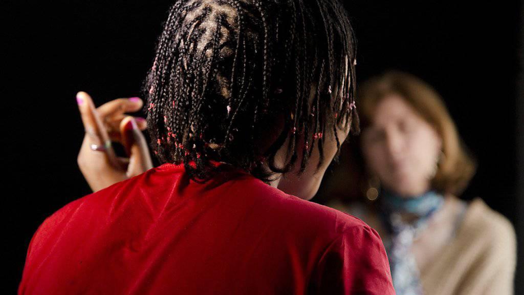Wurden letztes Jahr häufig Opfer von Menschenhändlern und suchten Beratungshilfe in der Schweiz: Frauen aus Nigeria. (Symbolbild)