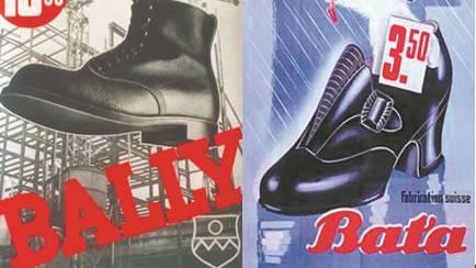 Bally, der Qualitätsbewusste, gegen Bata, der Preisbewusste.
