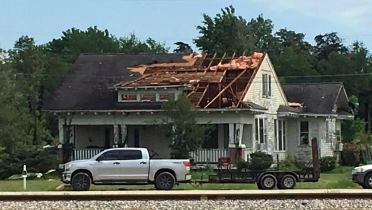In Texas hat am Samstag (Ortszeit) ein Tornado gewütet.