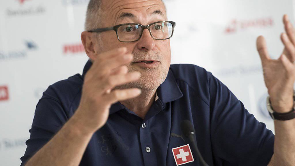 Erfreut über die Schweizer Auftritte in Frankreich: SFV-Präsident Peter Gilliéron