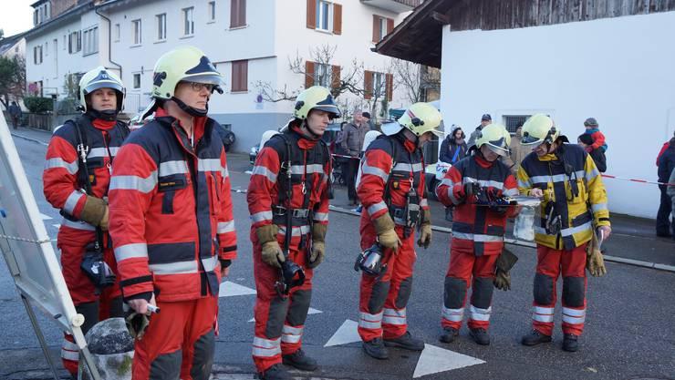 Nach einer Pause von 20 Jahren machte die Feuerwehr Oberengstringen wieder eine Hauptübung.