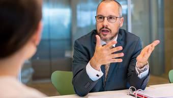Neuer Chef Menschenrechte im EDA: Botschafter Simon Geissbühler.