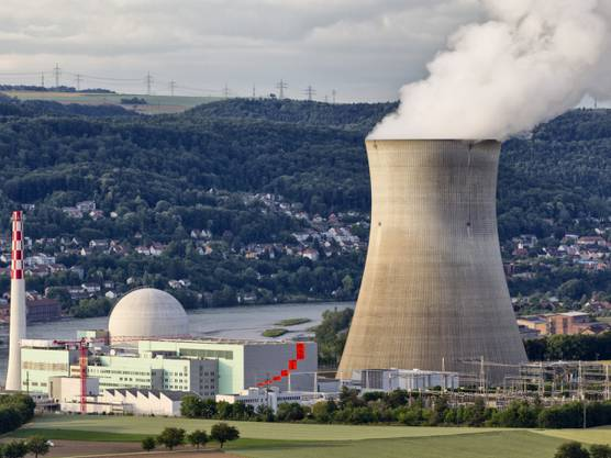 Das Atomkraftwerk Leibstadt im Kanton Aargau (Archiv)
