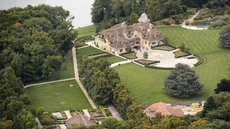 Das Schumacher-Anwesen «La Reserve» in Gland.