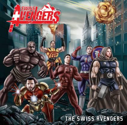 Das Cover der CD der Swiss Avengers.