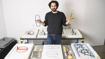 Kindheitserfahrungen, die ihn nicht mehr loslassen: Das Thema Sucht zieht sich durch die Kunst des Badeners Gianluca Trifilò.