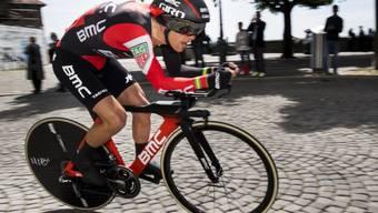 Dank Platz 2 im abschliessenden Einzelzeitfahren in Lausanne gewinnt der Australier Richie Porte die 71. Tour de Romandie