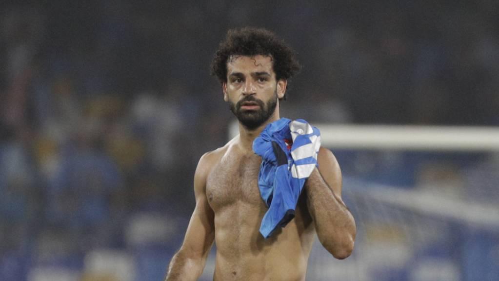 Im Regen stehen gelassen: Die Stimmen Ägyptens für Mohamed Salah bei der Wahl zum Weltfussballer des Jahres waren ungültig, weil das Formular falsch ausgefüllt war