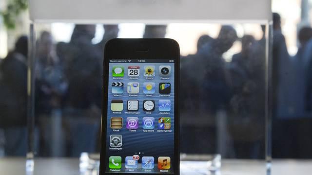 Der Stein des nationalen Anstosses: Ein iPhone 5. (Archiv)