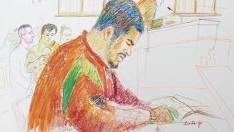 Immer wieder vor Gericht: Brian K. alias «Carlos».