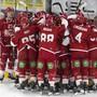 Wer jubelt nach dem dritten Halbfinalspiel zwischen Zug und Lausanne?