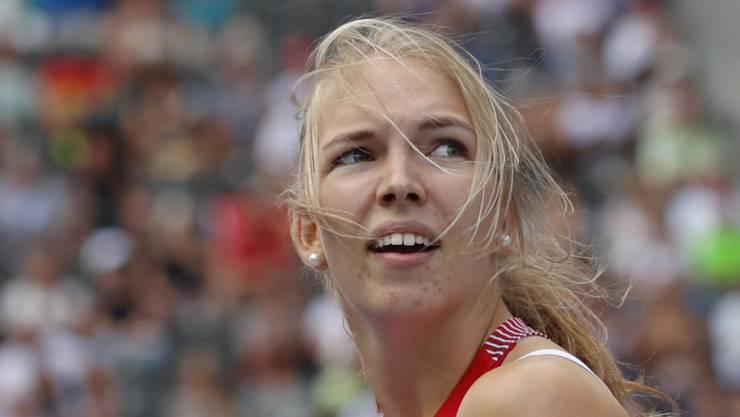 Géraldine Ruckstuhl verbesserte in Frankreich ihren eigenen Schweizer Rekord