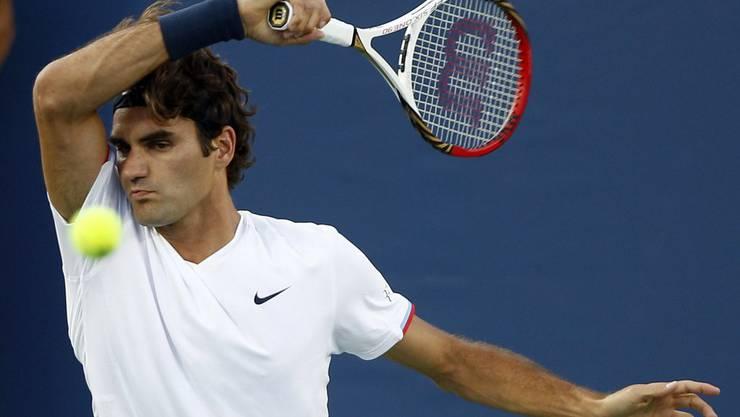Roger Federer legte einen Blitzstart hin
