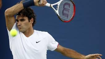 Federer lässt Tomic keine Chance