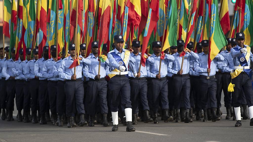 Dutzende Rebellen in Äthiopiens Oromo-Region getötet