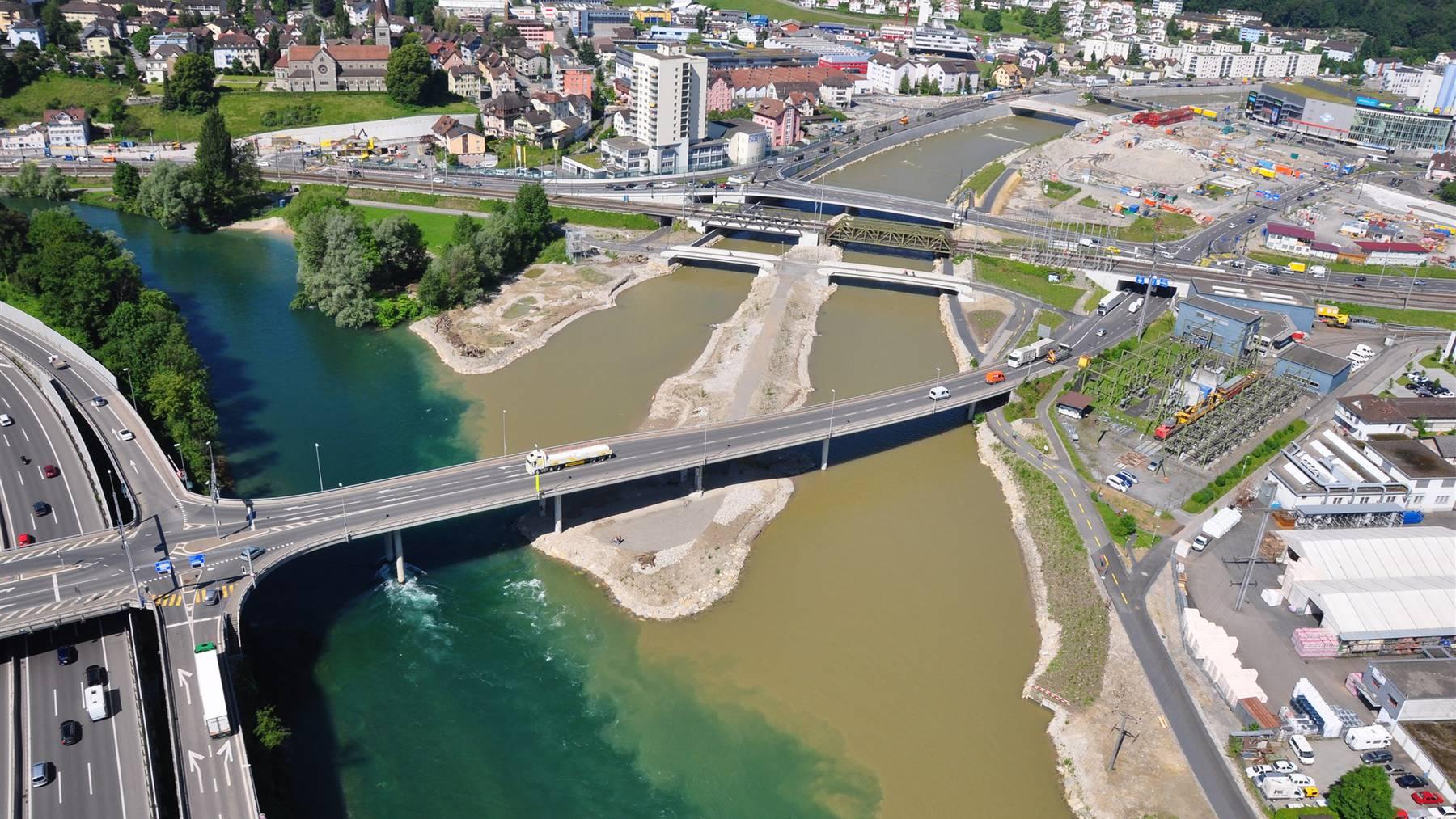 Luzern: Vorsicht beim Baden am Reusszopf
