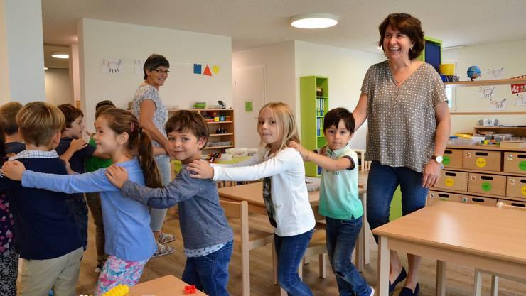 Mit der frühen Sprachförderung will die CVP auch erreichen, dass möglichst alle Kindergärtler so gut deutsch verstehen, dass sie dem Unterricht folgen können.