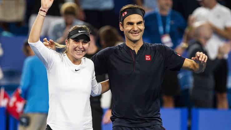 Von 2017 bis 2019 vertraten Belinda Bencic und Roger Federer die Schweiz beim inzwischen abgeschafften Hopman Cup in Perth.