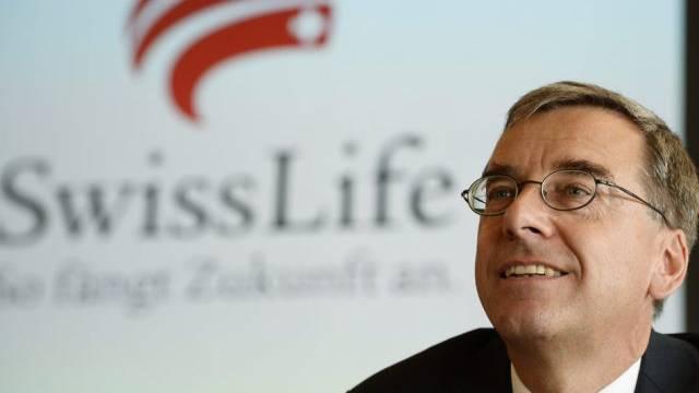 Swiss-Life-Chef Bruno Pfister hat 2013 mehr verdient (Archiv)