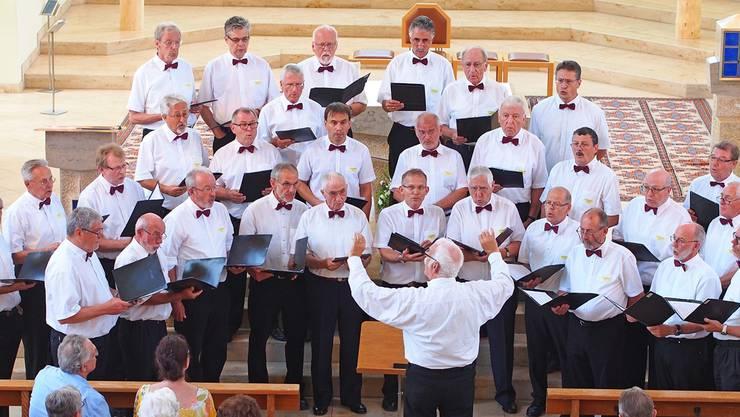 Der gastgebende Männerchor Liederkranz Hägendorf überzeugte vollumfänglich.
