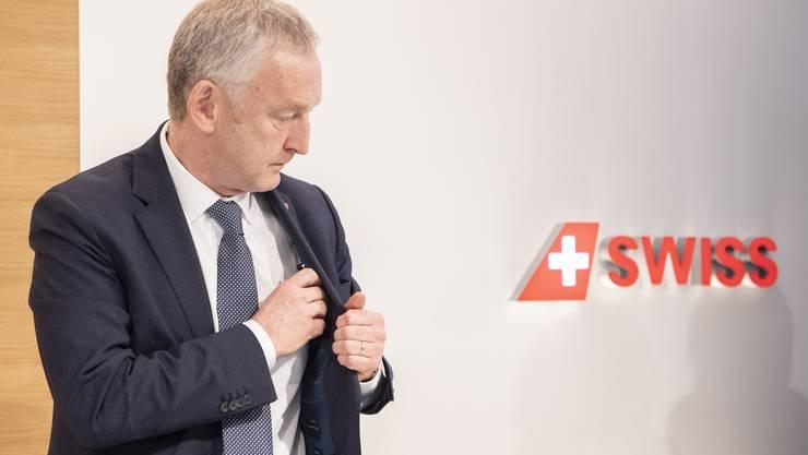 Thomas Klühr gibt die Führung der Swiss per Ende 2020 ab.