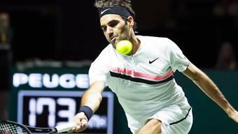 Roger Federer musste im Achtelfinal kämpfen